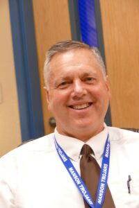 Manson High School Principal Don Vanderholm