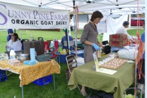 Sunny Pine Farms is one of the vendors at the market
