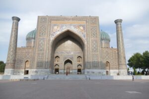 Stunning mosque in Samarkand