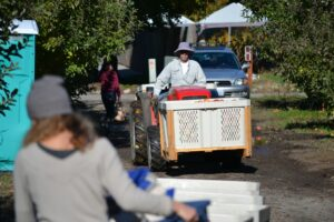 Glean is a community event that brings volunteers together to feed the hungry